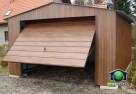 Garaże Blaszane 4x6 ORZECH Blaszaki drewnopodobne - 5