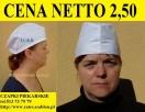 CZAPKI PIEKARSKIE cena 2,50 zł. RATES PRODUCENT - 1