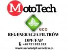 Regeneracja filtrów DPF/FAP Ekologiczne czyszczenie od 569zł
