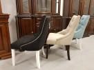 Krzesło pikowane z kołatką i pinezkami Nowe - 5