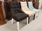 Krzesło pikowane z kołatką i pinezkami Nowe - 4