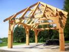 Wiata drewniana altana, garaż, altanka, wiata grillowa, grill
