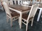 Krzesło P twarde prowansalskie do baru kuchni jadalni Nowe - 4