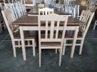Krzesło P twarde prowansalskie do baru kuchni jadalni Nowe - 1