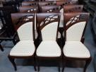 Krzesło tapicerowane wygodne do salonu jadalni restauracji