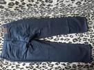 MC GORDON Ciemno granatowe spodnie L - 100% bawełna - 2
