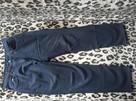 MC GORDON Ciemno granatowe spodnie L - 100% bawełna