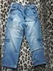 SOUTHPOLE Classic Jeans L 34 - Jasne przecierane spodnie N