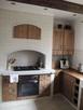 Meble kuchenne - drewniane, rustykalne, rzeźbione