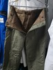 Ocieplane spodnie robocze