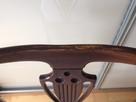 Stół Okrągły Ludwikowski (rozkładany) z krzesłami 4szt - 5