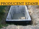 Szczelne zbiorniki na deszczówkę szamba betonowe szambo