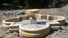 Duża i ryginalna fontanna z kamienia -piaskowiec - 4