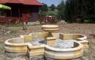 Duża i ryginalna fontanna z kamienia -piaskowiec - 6