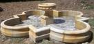 Duża i ryginalna fontanna z kamienia -piaskowiec - 3