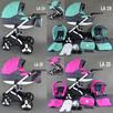 Wózek Dziecięcy Lameiro 3w1 Babeboss Wózki Dziecięce - 7