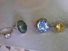 Warmet ORNOpierscionki srebrne kopułki oryginały z szuflady