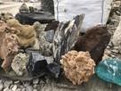 Kamień Akwariowy Ozdobny Naturalny Skałka do Akwarium Piasek