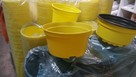 Doniczka miska żółta fi-13 opak.300szt /105zł