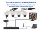 Zestaw monitoring 4 kamery HD + Zasilanie+Przewod+Akcesoria - 3