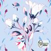 Materiał drukowany na zamówienie - Wiosenne kwiaty - seria 2 - 3