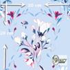 Materiał drukowany na zamówienie - Wiosenne kwiaty - seria 2 - 1