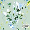 Materiał drukowany na zamówienie - Wiosenne kwiaty - seria 1 - 3