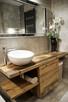 Meble łazienkowe ze starego drewna na wymiar