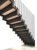 Nowoczesne schody wewnętrzne- loft- industrial NA ZAMÓWIENIE