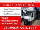 Transport- przeprowadzki -wywozy mebli