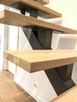 Schody wewnętrzne metalowe - stalowe || loftowe, industrial - 1