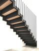 Schody wewnętrzne metalowe - stalowe || loftowe, industrial - 5