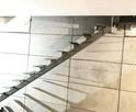Schody wewnętrzne metalowe - stalowe || loftowe, industrial - 2