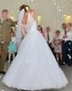 Suknia ślubna 36, koronka, guziki