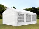 3x6 Namiot imprezowy, PE, biały. Promocja wysyłka gratis