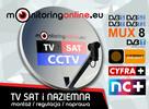 Montaż / Napraw / Ustawianie anten DVB-T oraz SAT Kraków i o