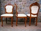 Stół Krzesła Ludwik Filip różne wzory - 13