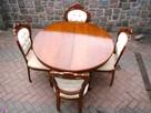 Stół Krzesła Ludwik Filip różne wzory - 12
