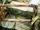 Stara okna drewniane retro loft lustro zdjęcia grill, 41x74 - 1