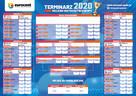Piłkarski gadżet: terminarz EURO 2020 z logo firmy/klubu!