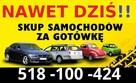 Odkupię Twoje Auto ! Gotówka od ręki z 15min ! 518-100-424