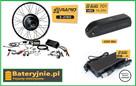 Zestaw do konwersji roweru 2000W 48V + Bateria 17,5 A Elektr
