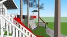 Wizualizacje 3D konstrukcji, domki, altany, projekty, sketch - 15
