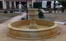 Stylowa fontanna ogrodowa z piaskowca - 6