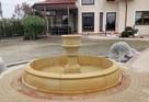 Stylowa fontanna ogrodowa z piaskowca - 2