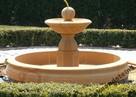 fontanna z piaskowca, fontanna z kamienia naturalnego