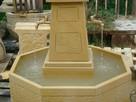Piękna fontanna z naturalnego kamienia - 2
