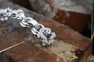 Uchwyt meblowy z kryształkami Swarovskiego