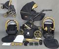 Wózek dziecięcy 3w1 Gold Ucio wózki dziecięce + fotelik - 8