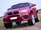 BMW X6M W NAJLEPSZEJ wersji, miękkie siedzenia EVA, PILOT 2.4